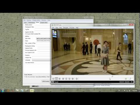 Edit a Video Without Re-Encode [Mkvtoolnix]