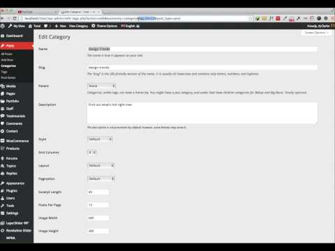 Get The Category, Tag, Taxonomy ID in WordPress