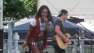 Mickey Guyton - Heartbreak Song - CMAfest 6-12-16