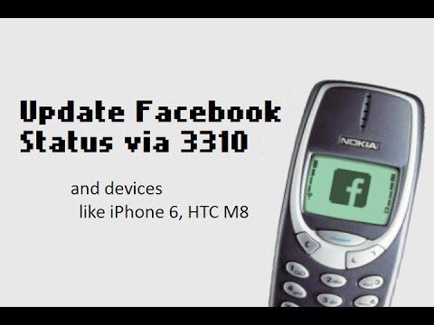 facebook fake Status trick - Upload status as via Blackberry,iPhone 6 or anything www.facebook.com