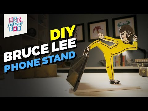 DIY Bruce Lee Phone Stand | Mad Stuff With Rob