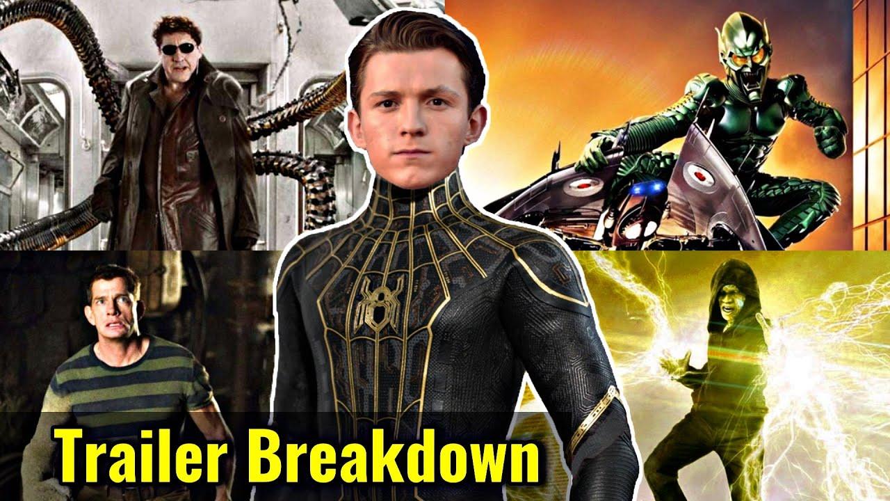 Spider-Man No Way Home Trailer Breakdown In HINDI | Spider-Man: No Way Home Teaser Trailer In HINDI