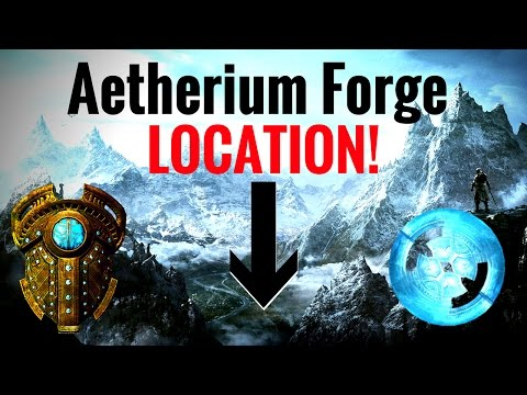 Aetherium Forge Location (Lost to the Ages Quest) - Skyrim REMASTERED
