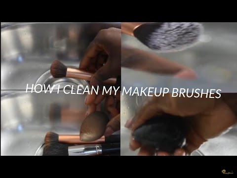 HOW I WASH MAKEUP BRUSHES AND BEAUTY BLENDERS