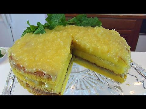 Betty's Pineapple-Coconut Stack Cake