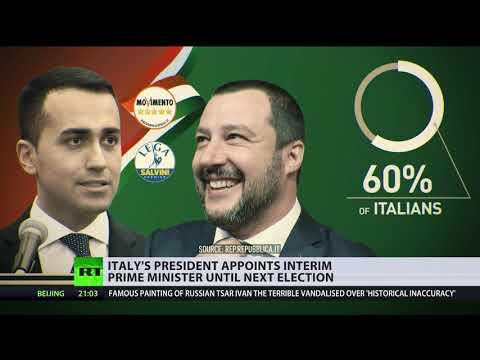 Ex-IMF head Cottarelli becomes Italy's interim PM