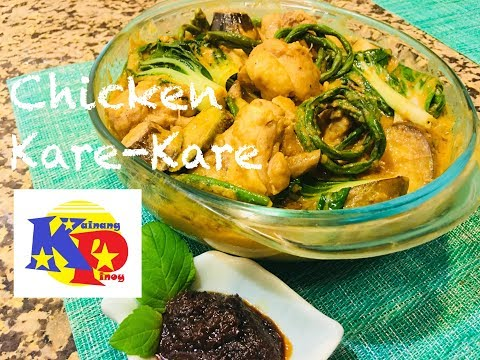 Chicken Kare-Kare