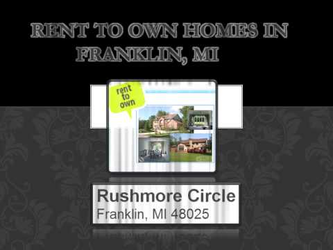 rent to own homes in Michigan