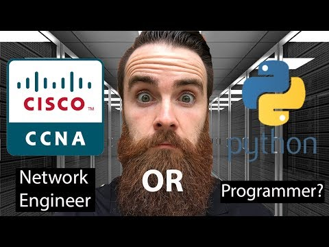 CCNA or Python? | Should I Become a Network Engineer or a Programmer?