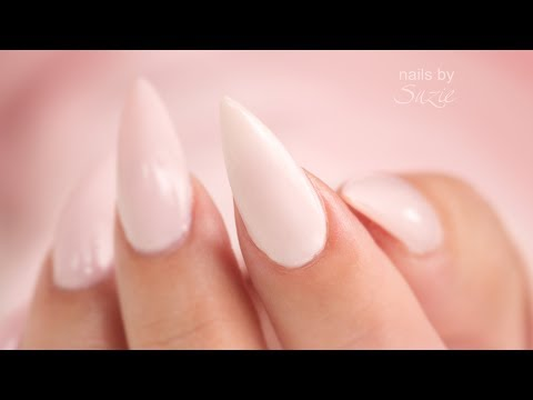 Cornstarch and GEL Polish Nails