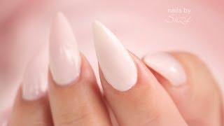Cornstarch and GEL Polish Nails