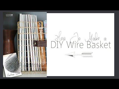 DIY Wire Baskets