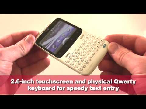 HTC ChaCha handset overview