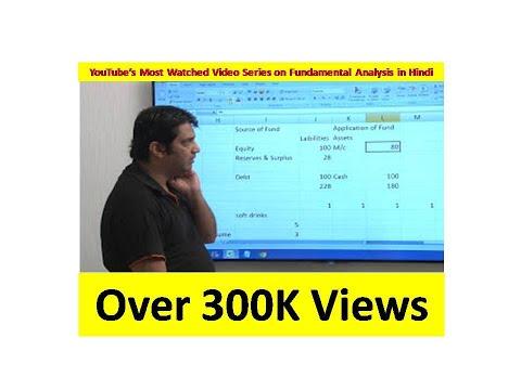 3. Hindi: Fundamental Analysis (Balance Sheet - I)