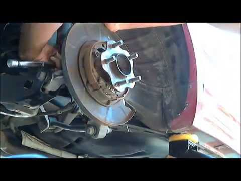 wheel hub replacement on 03 nissan altima