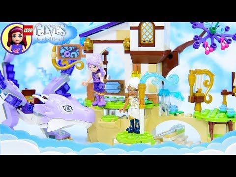 Lego Elves Aira and the Song of the Wind Dragon Speed Build Silly Play Kids Toys