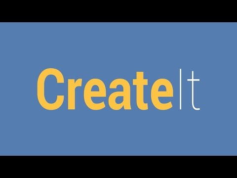 Create It: Express yourself for 500 minutes