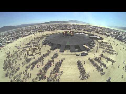 Burning Man 2013 [by drone]: In the Dust, Above the Dust