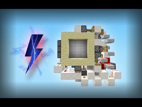 Minecraft | 3Fast3Furious 3x3 Door! [Tutorial]