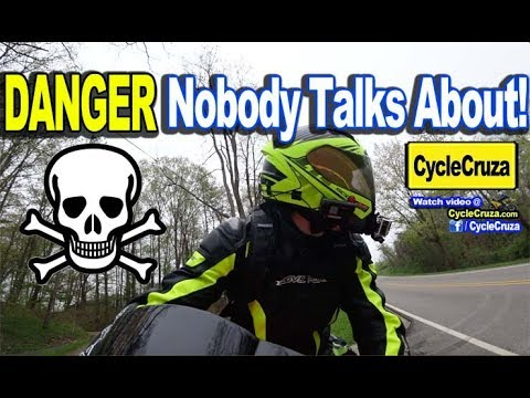 A DANGER to Bikers Nobody Talks About - SCARY CLOSE CALL! | MotoVlog