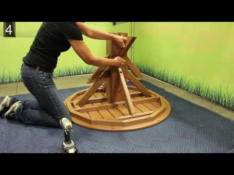 Assembly Instructions Round Pedestal Table
