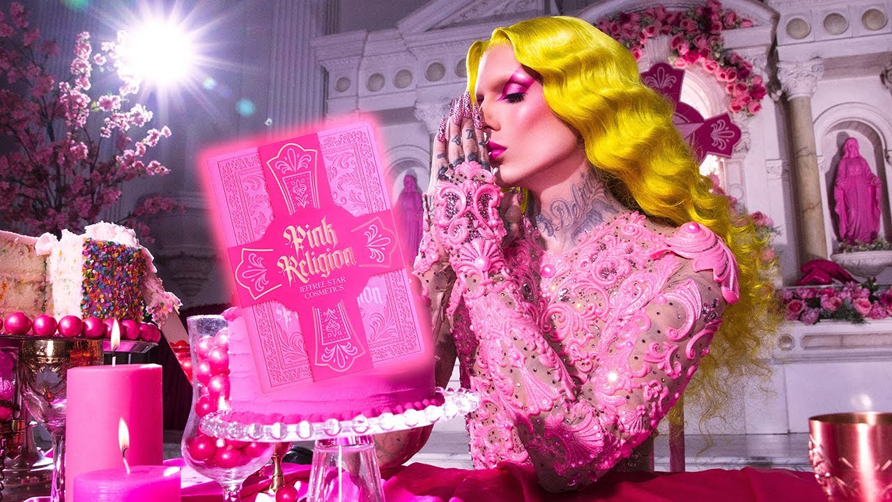 Pink Religion 💖 Palette & Collection Reveal! | Jeffree Star Cosmetics