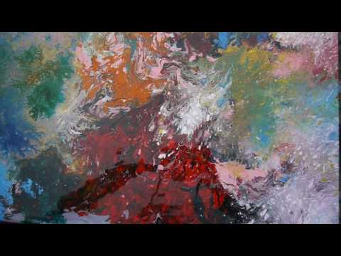 ACRYLIC POURING Art on Canvas