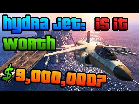 GTA Online: Is the Hydra Jet Worth $3,000,000? (GTA 5 Heists DLC Hydra Review)