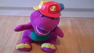 Fisher price Silly Hats Barney talking,singing activity toy