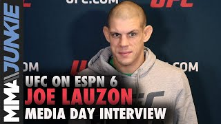 UFC Boston: Joe Lauzon full media day interview