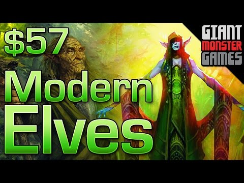 Budget Modern Deck Tech - Modern Elves ($57)
