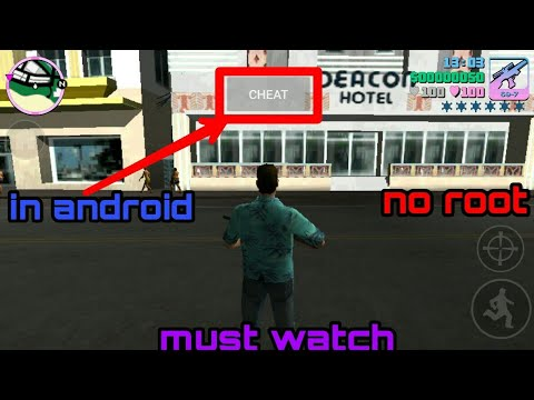 (proof  no root)How to use cheats in gta vice city in android