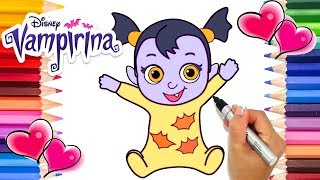 Como Dibujar Vampirina Merry Christsmas Dibujos Para Niños
