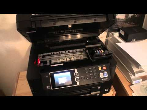 EPSON WorkForce WF-3640 - Setup and Demo