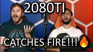 2080Ti Catches FIRE - The WAN Show Nov 17, 2018