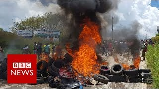 Venezuela crisis: Brazil deploys troops after migrant attacks - BBC News