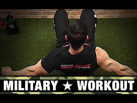 Military Workout (LEGS | UPPER BODY | CONDITIONING)