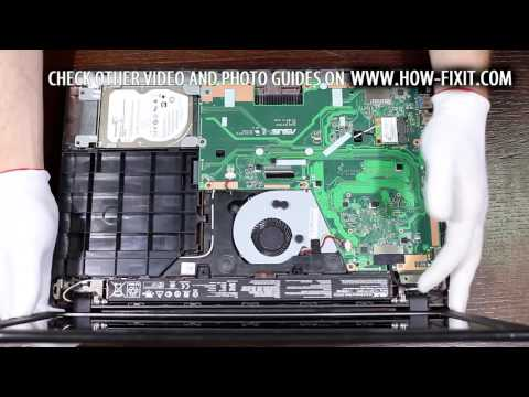 Asus X551 Series power button replacement
