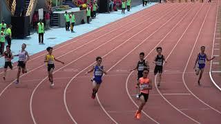 2019全國小學田徑錦標賽國小男100公尺決賽