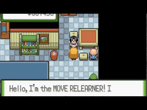 Pokemon Glazed- Move Deleter and Move Relearner in Blackthorn City