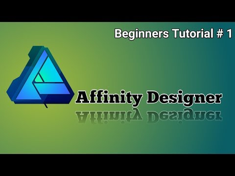 How To Use Affinity Designer || Beginners Guide || App Review[(Hindi:Urdu)]