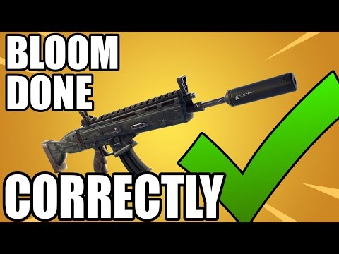 Suppressed Assault Rifle | How Bloom Should Be