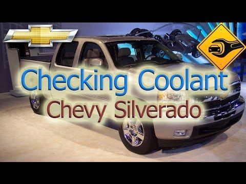 Checking Coolant   Chevy Silverado   🚗🛠
