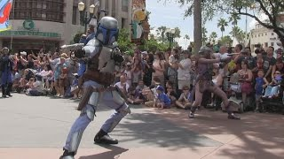 2015 Star Wars Weekends Celebrity motorcade parade at Disney
