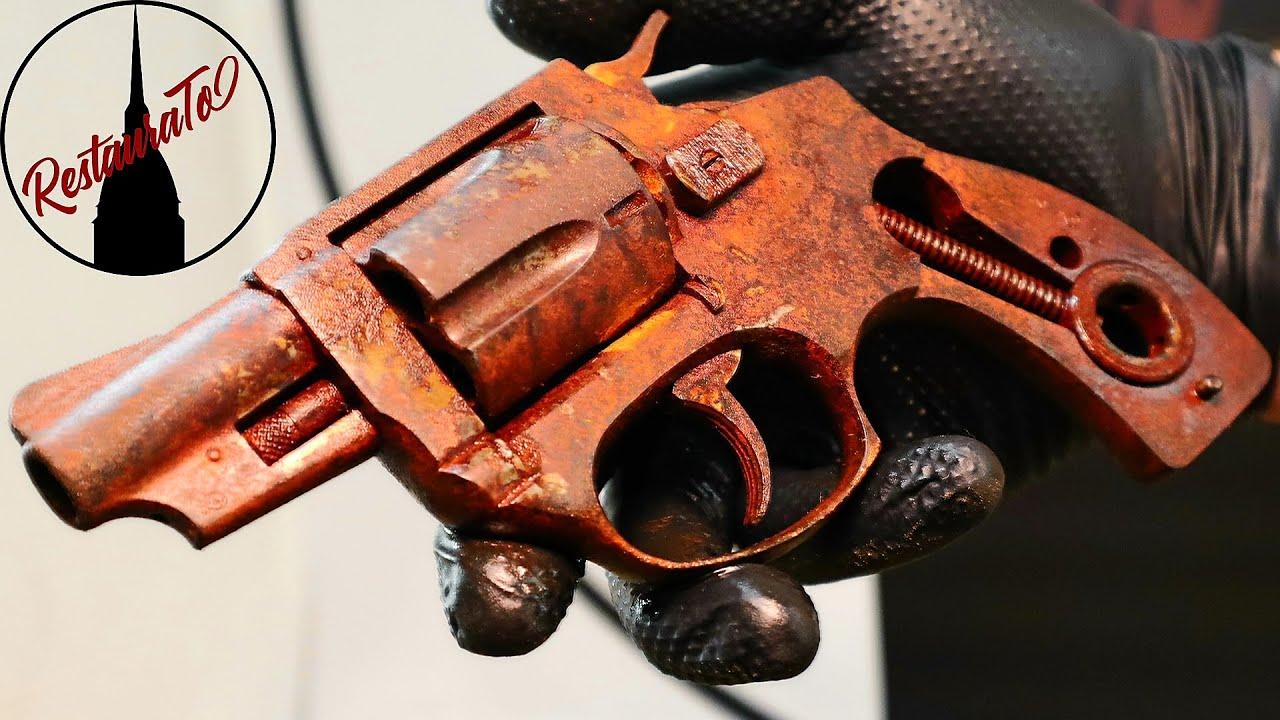 Rusty Revolver Restoration 38 special - Restoration of gun