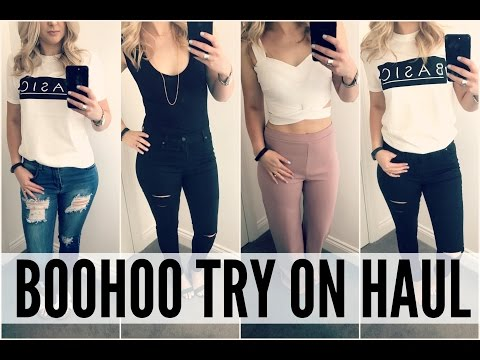 Try On Boohoo Clothing Haul | Loved By Steph