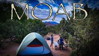 Camping Moab Utah | MTBing Slickrock Trail | Exploring Capitol Reef National Park