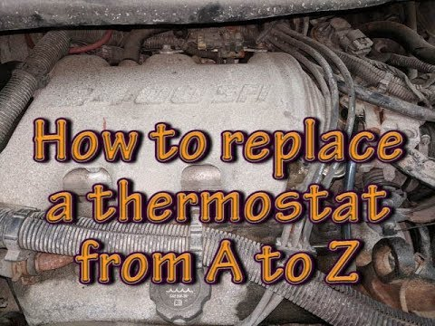 How to replace a thermostat from A to Z