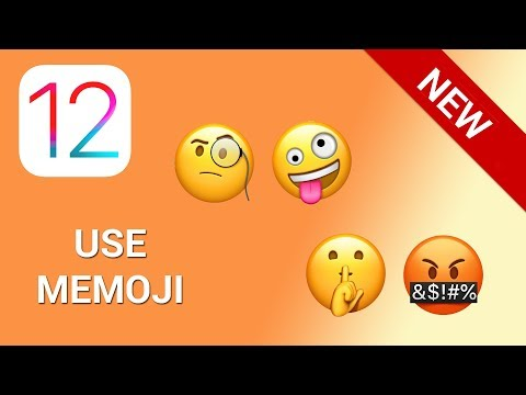 How to use memoji in Facetime in iOS 12