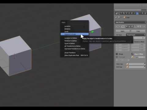 Creating a circle array in Blender